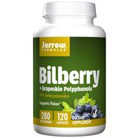 Jarrow Formulas Bilberry + Grapeskin Polyphenols