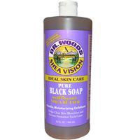 Dr. Woods Shea Vision Pure Black Soap